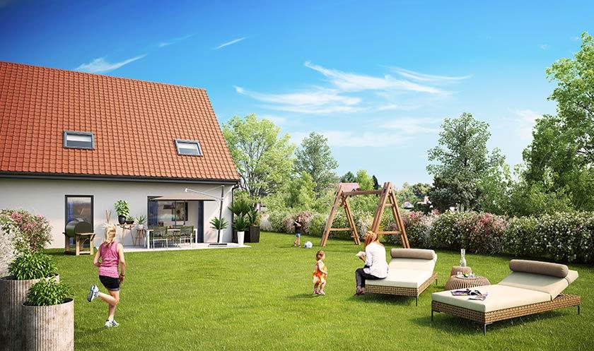 Neuf maison villeneuve d 39 ascq 59491 sur le partenaire for Garage de la riviera villeneuve d ascq