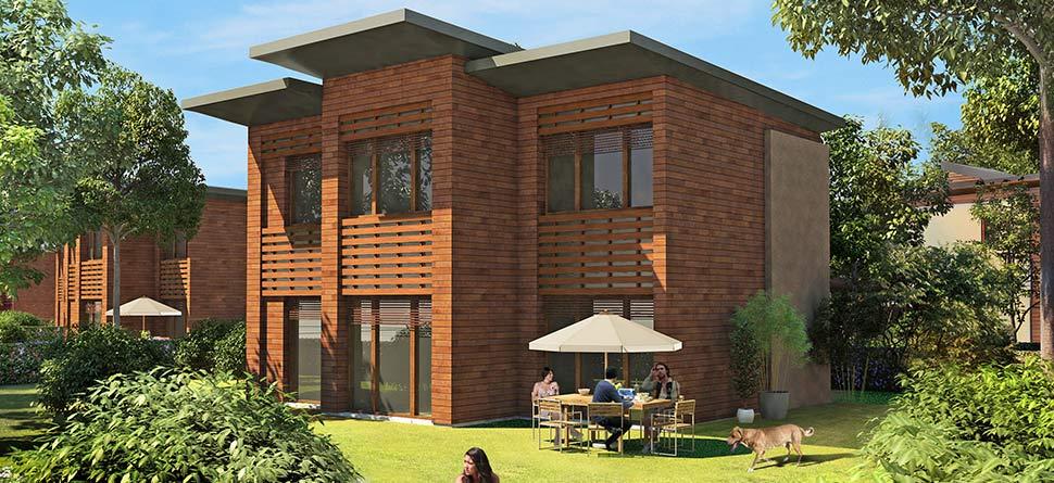 programme immobilier neuf les lodges bouygues immobilier. Black Bedroom Furniture Sets. Home Design Ideas