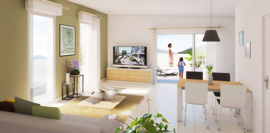 programme immobilier neuf fleur de lin bouygues immobilier. Black Bedroom Furniture Sets. Home Design Ideas