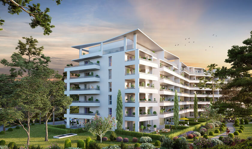 Programme immobilier neuf Chateau Valmante - ADMIR'