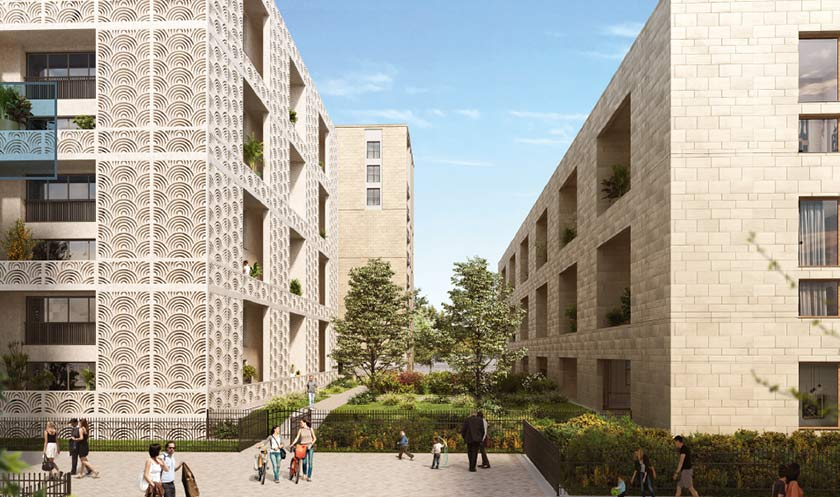 Programme immobilier neuf Passages Saint Germain