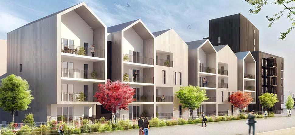 Programme immobilier neuf bassins a flot dock b for Appartement bordeaux bassin a flot