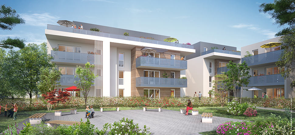 Programme immobilier neuf latitude 40 bouygues immobilier for Programme immobilier neuf