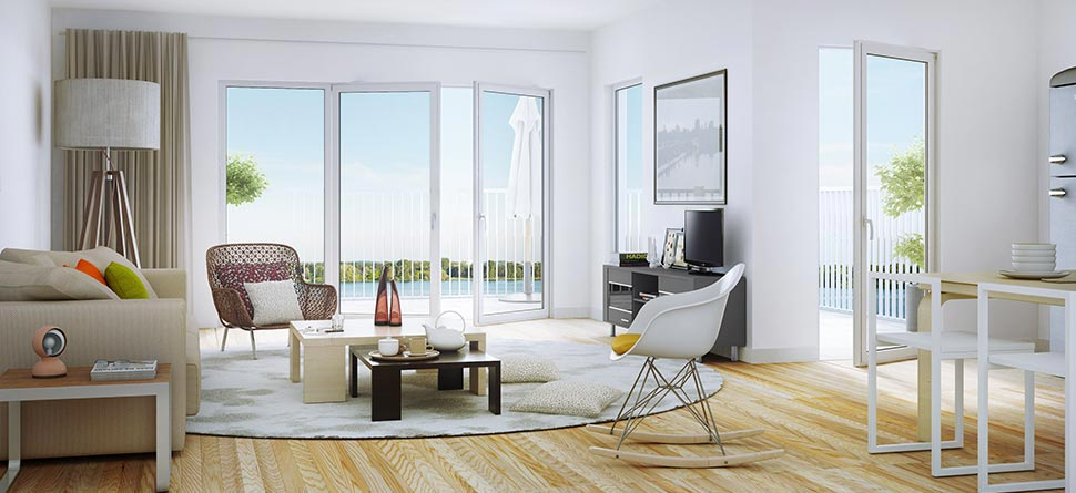 programme immobilier neuf so 39 lac ginko bouygues immobilier. Black Bedroom Furniture Sets. Home Design Ideas