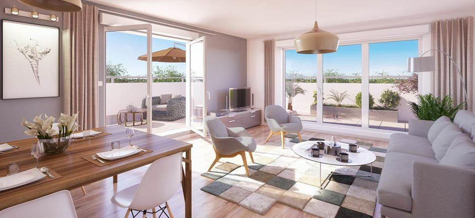 Programme immobilier neuf l 39 atelier bouygues immobilier for Location programme neuf bordeaux