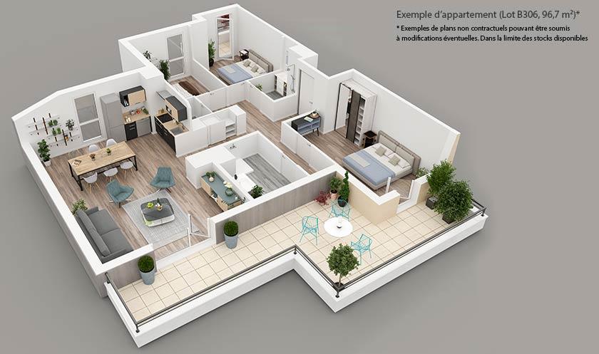 Programme immobilier neuf St-Germain Dupré