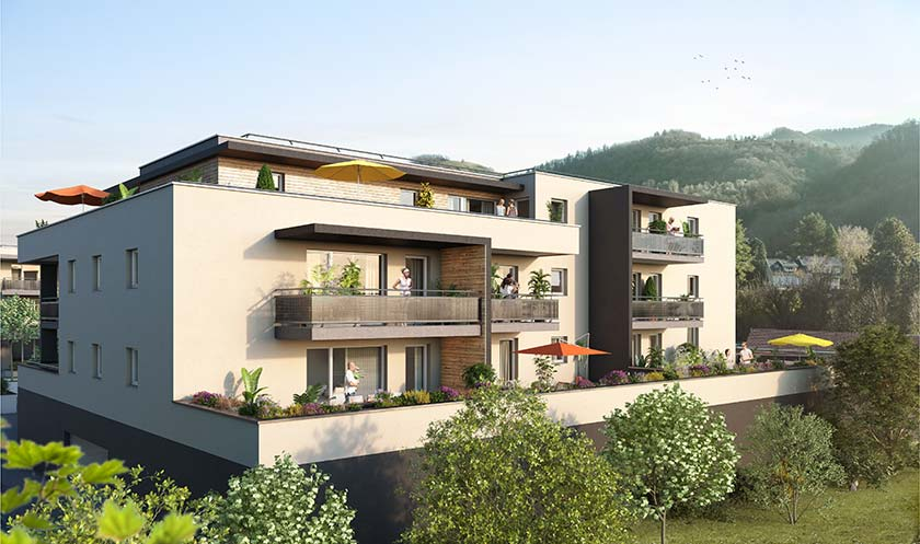Programme immobilier neuf Seconde Nature