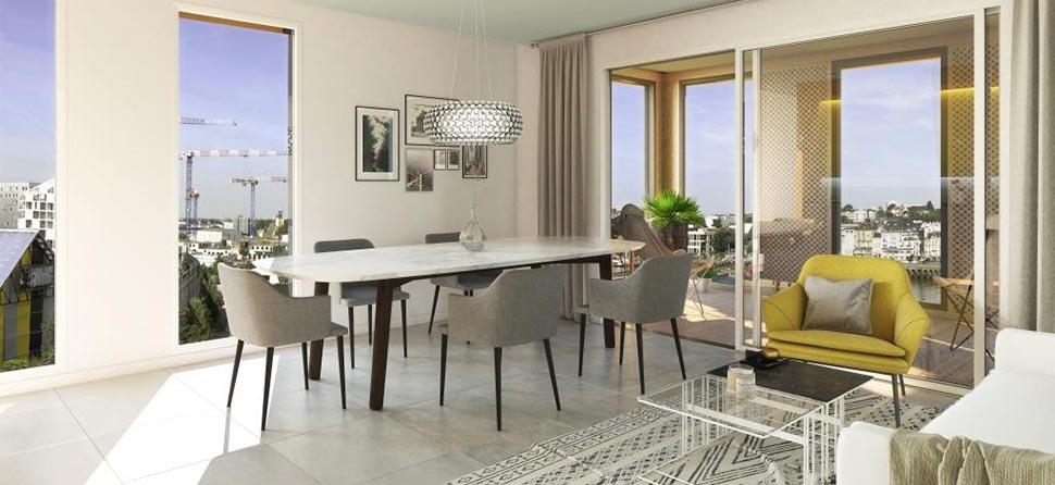 programme immobilier neuf les nouveaux mondes 1. Black Bedroom Furniture Sets. Home Design Ideas