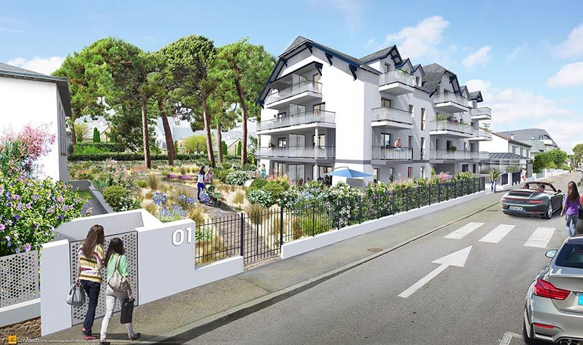 Achat-Vente-2 pièces-Pays-De-La-Loire-LOIRE ATLANTIQUE-LA-BAULE-ESCOUBLAC