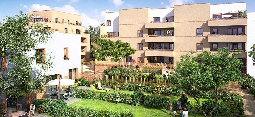 Programme immobilier neuf arbor sens bouygues immobilier for Residence neuf