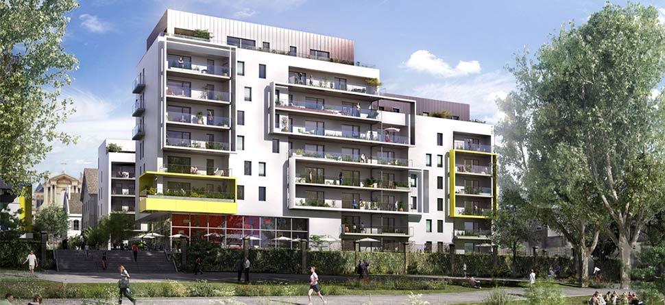 programme immobilier neuf la manufacture les rives bouygues immobilier. Black Bedroom Furniture Sets. Home Design Ideas