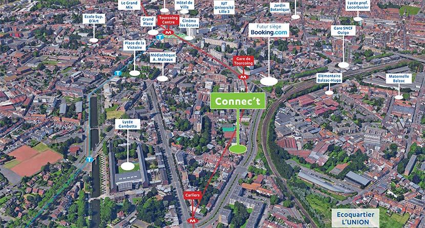 Plan de Tourcoing