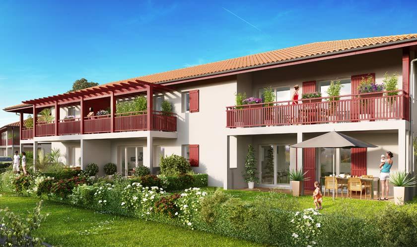 Immobilier p9 les for Achat maison ustaritz