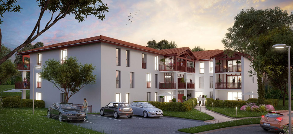 Programme immobilier neuf le jardin d 39 emma bouygues for Jardin immobilier