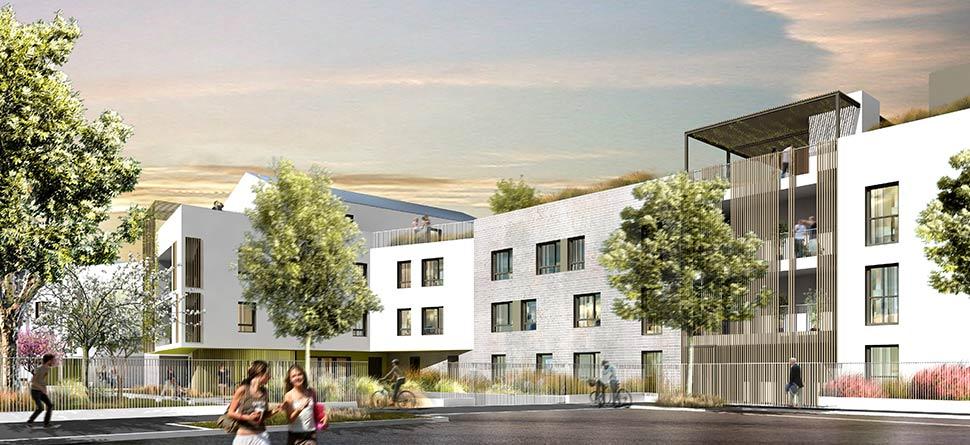 Programme immobilier neuf le jardin des elements for Jardin immobilier