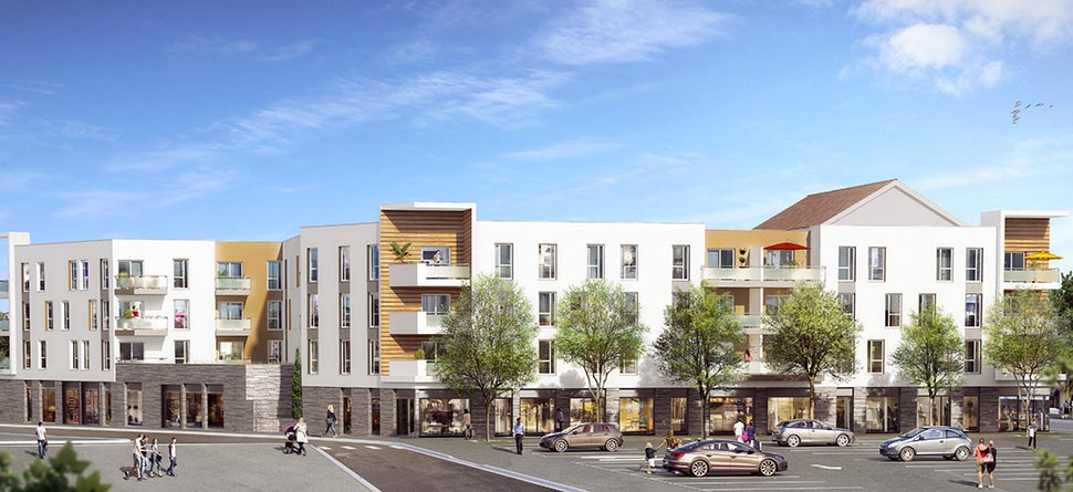 Programme immobilier neuf coeur marche bouygues immobilier for Residence neuf