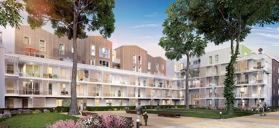Programme Immobilier Neuf Empreinte Nature Bouygues Immobilier