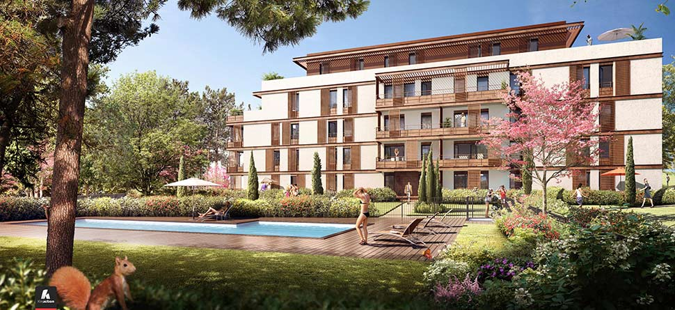 Programme immobilier neuf le jardin baccara bouygues for Jardin immobilier vallangoujard
