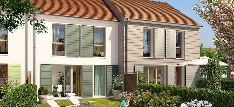 Programme immobilier neuf coeur murelli bouygues for Jardin immobilier vallangoujard