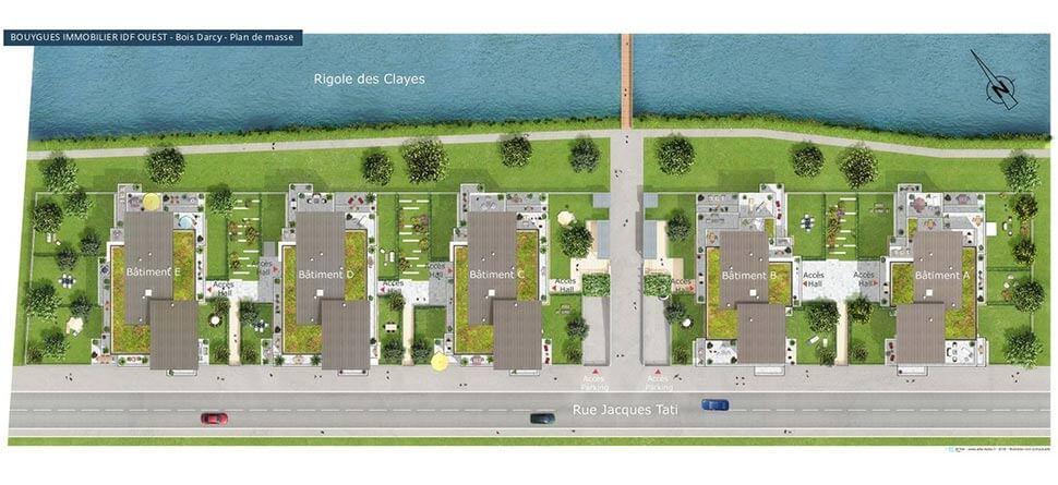 Programme immobilier neuf grand canal ii bouygues immobilier - Zac de la croix bonnet 78390 bois d arcy ...