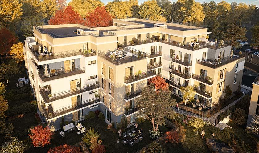Programme immobilier neuf LE DOMAINE DE LA FAISANDERIE