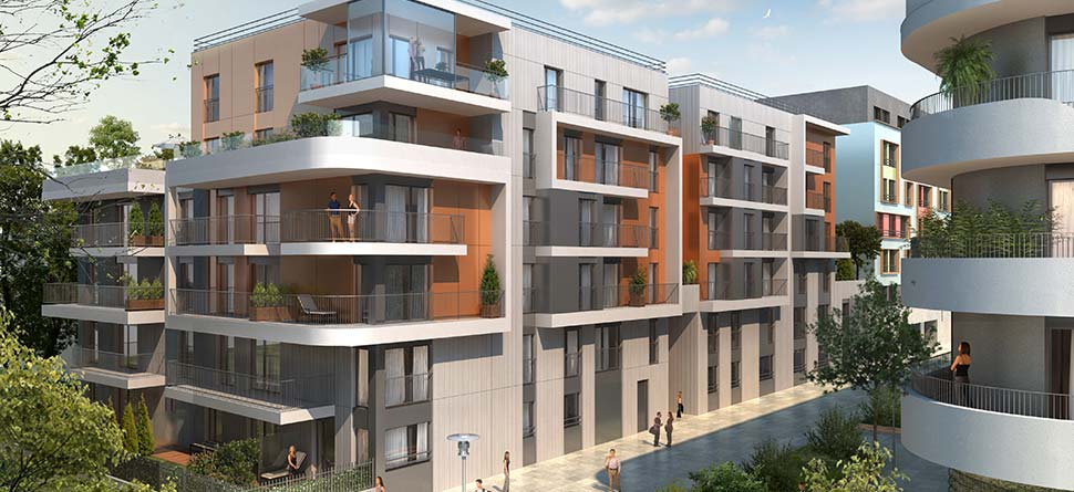 Programme immobilier neuf elogia bouygues immobilier for Tva agrandissement residence principale