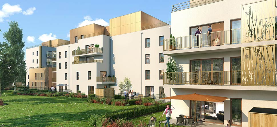 Programme immobilier neuf sesame bouygues immobilier - Cabinet immobilier st denis ...
