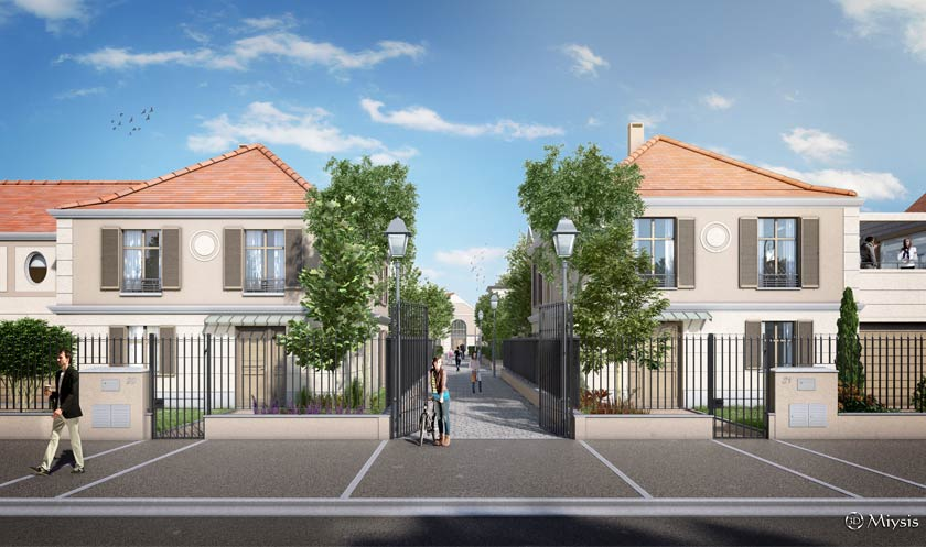 Programme immobilier neuf l 39 isle adam 95290 val d 39 oise for Appartement neuf 95