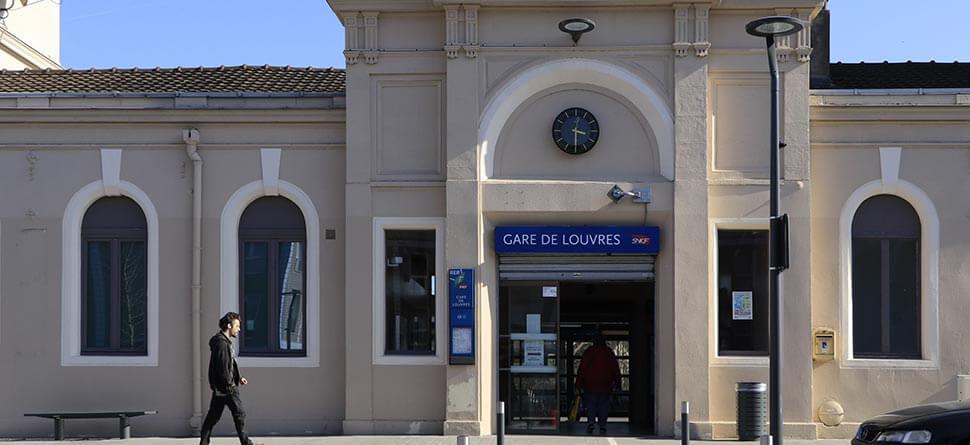 Gare de Louvres