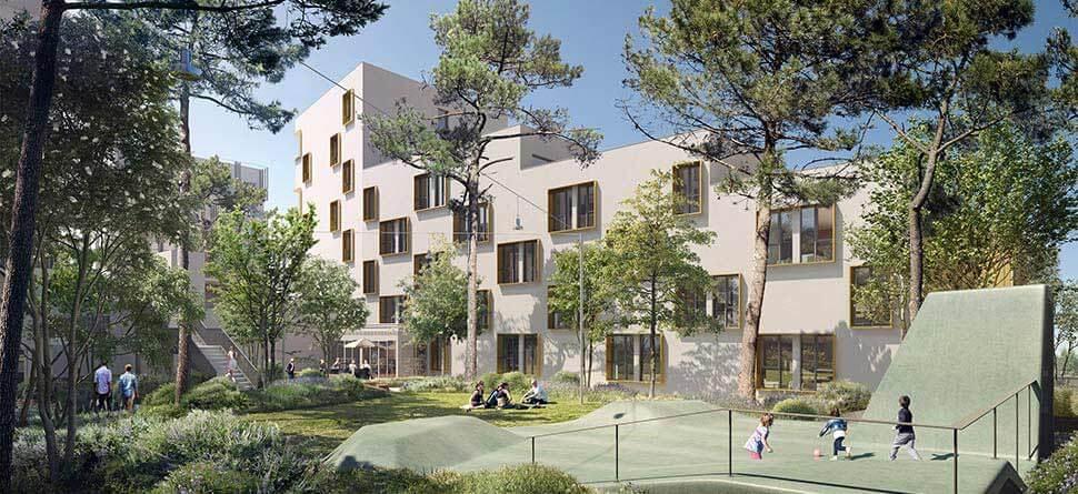 programme immobilier neuf mer et golf city bordeaux lac bouygues immobilier. Black Bedroom Furniture Sets. Home Design Ideas